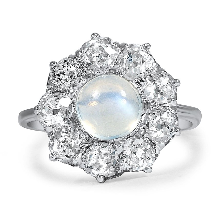 Edwardian Moonstone Vintage Ring