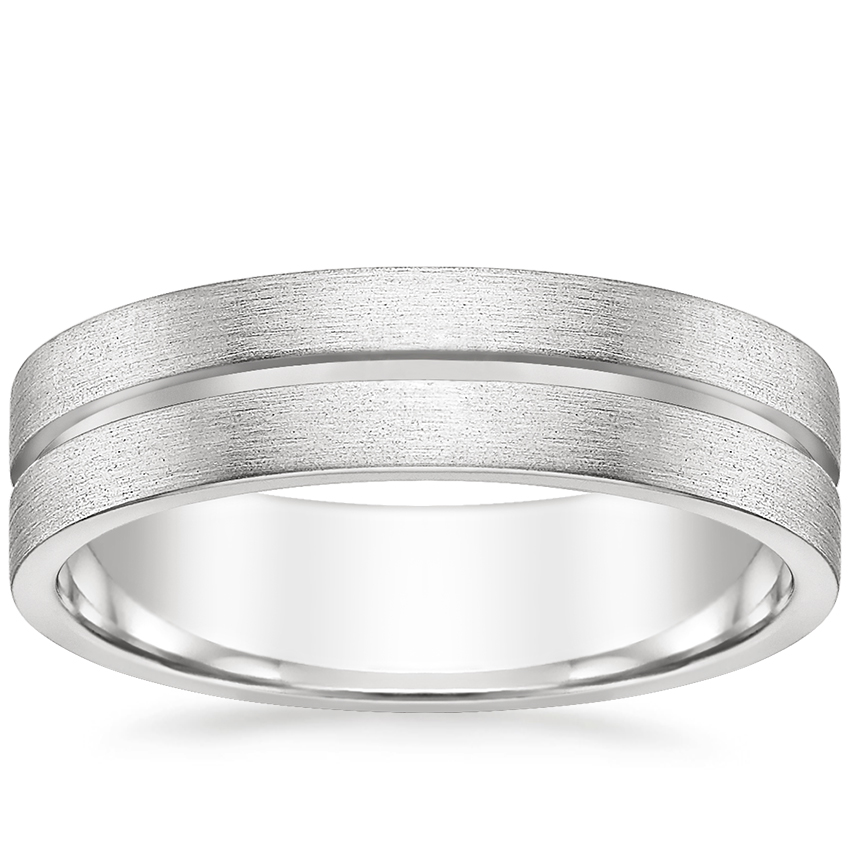 Mason Wedding Ring in Platinum