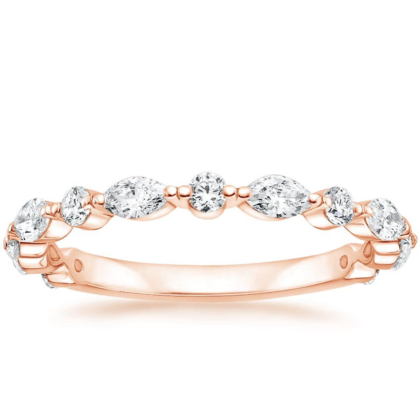 Rose Gold Luxe Marquise Diamond Ring