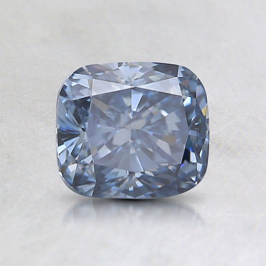 1.03 Ct. Fancy Blue Cushion Lab Created Diamond