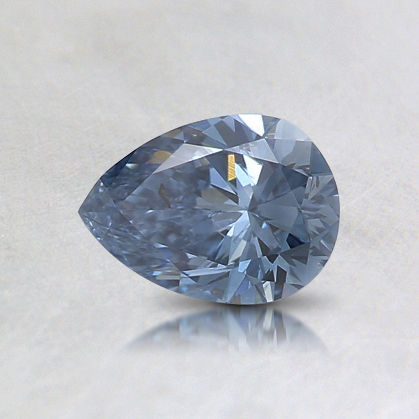 0.50 Ct. Fancy Vivid Blue Pear Lab Created Diamond