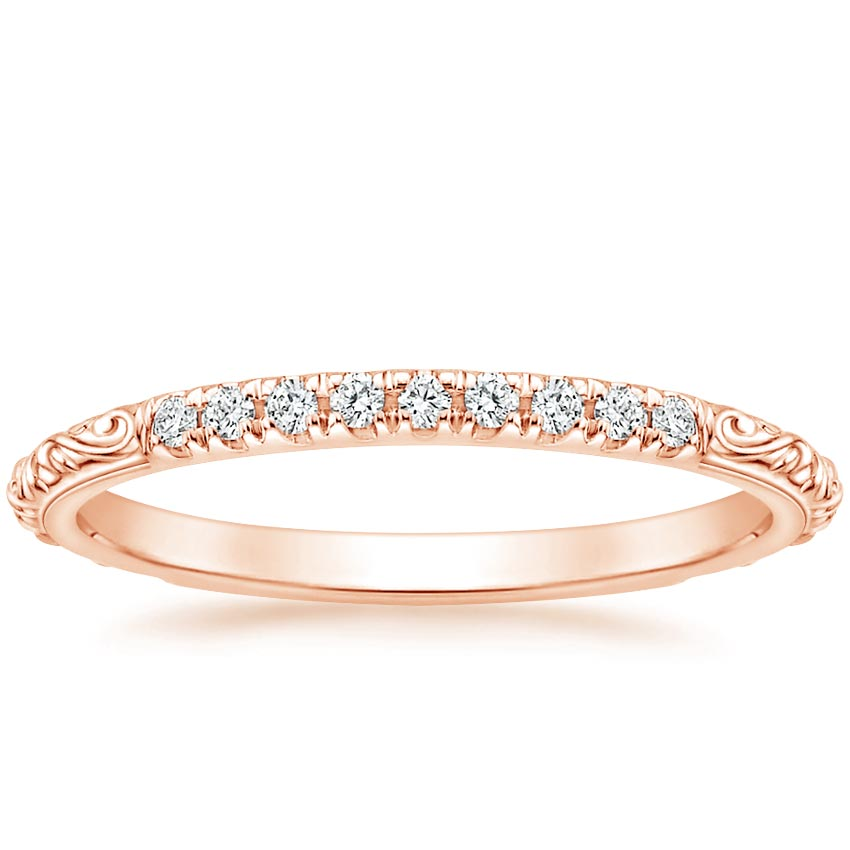 Rose Gold Adeline Diamond Ring
