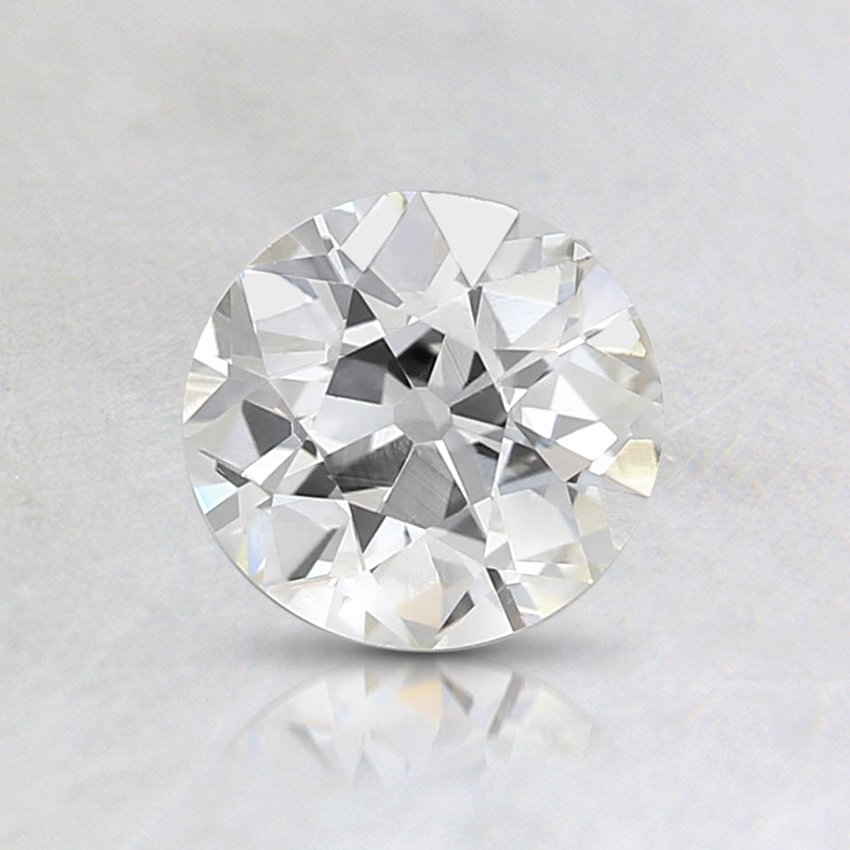 0.70 Carat, J Color, VVS2 Clarity, Round Old European Cut Diamond