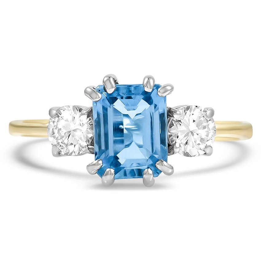 Retro Aquamarine Vintage Ring