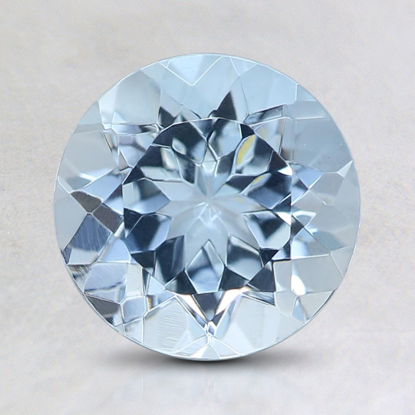 7.5mm Fine Round Aquamarine