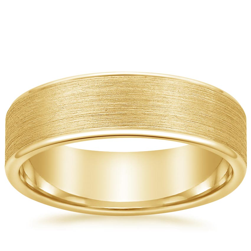 Yellow Gold Alpine Wedding Ring