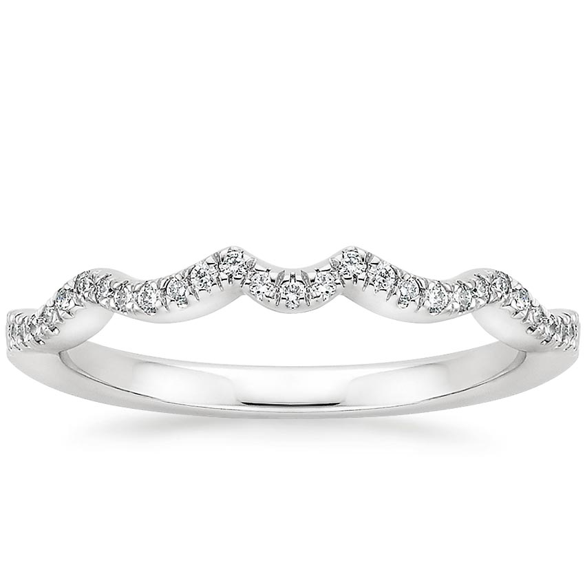 Infinity Contoured Diamond Ring
