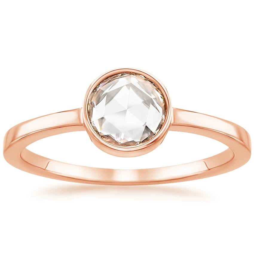 Rose Gold Rosebud Diamond Ring (1/2 ct. tw.)