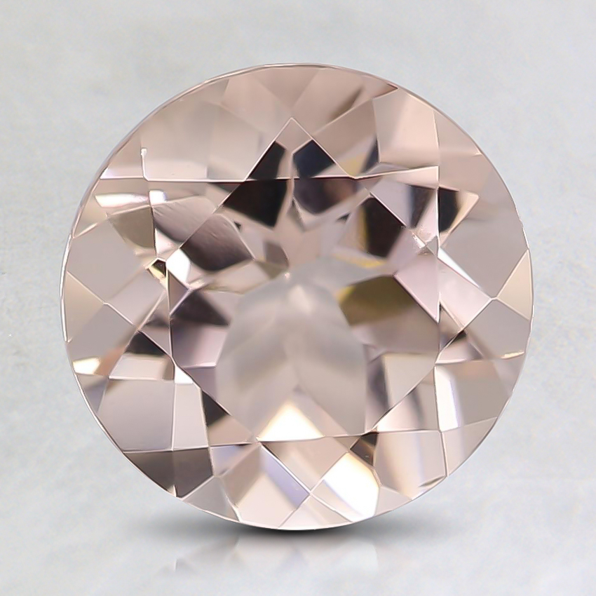 8mm Peach Round Morganite