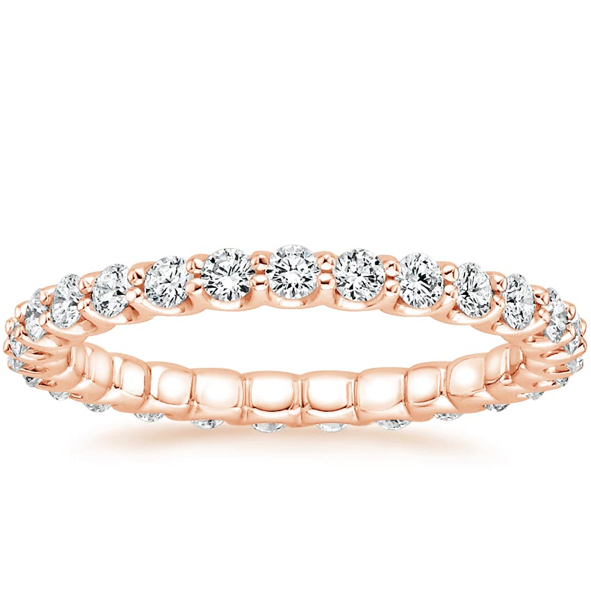 Rose Gold Cora Eternity Diamond Ring (7/8 ct. tw.)