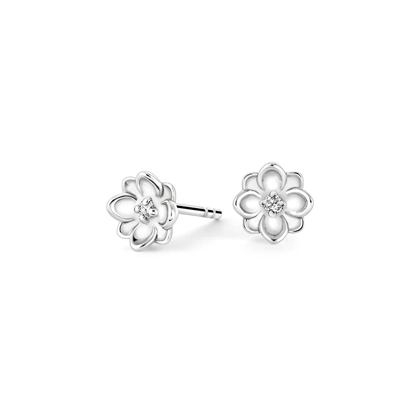 Magnolia Diamond Earrings