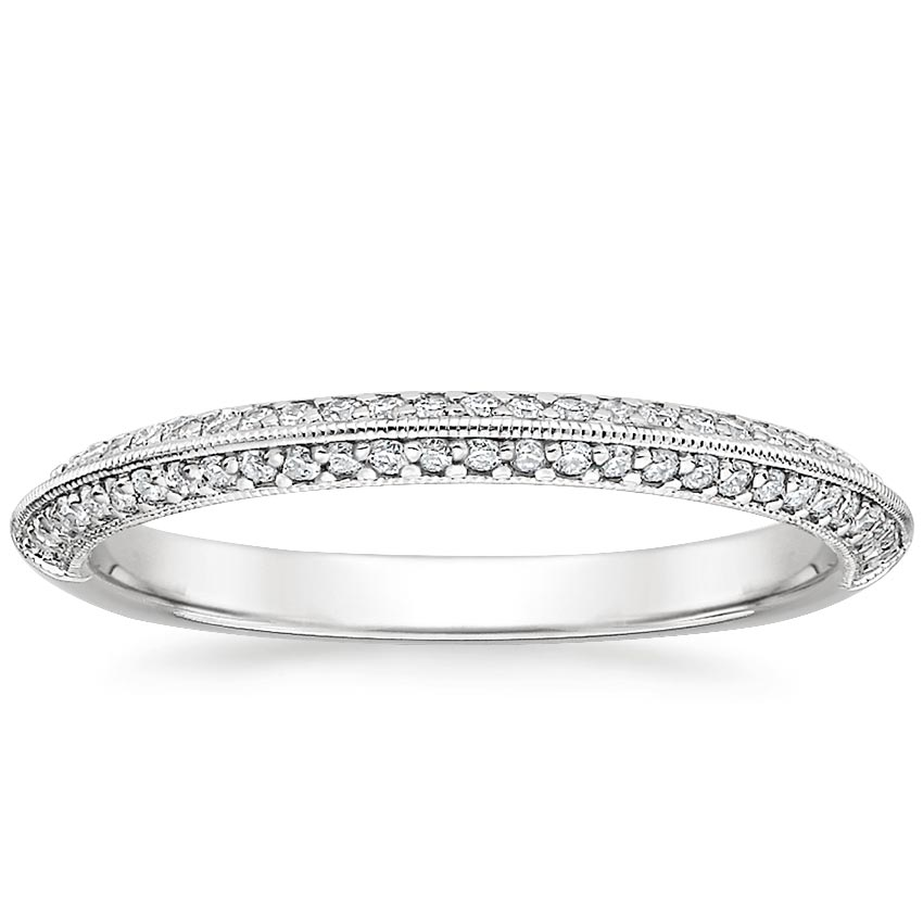 Callista Diamond Ring in 18K White Gold