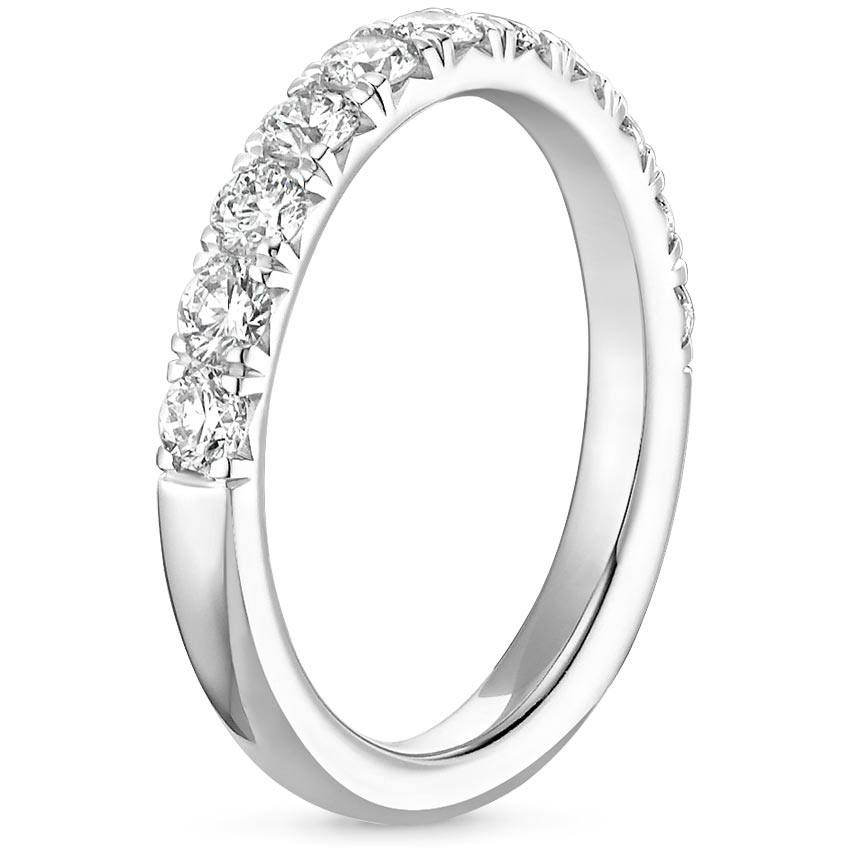 French Pav Eternity Ring