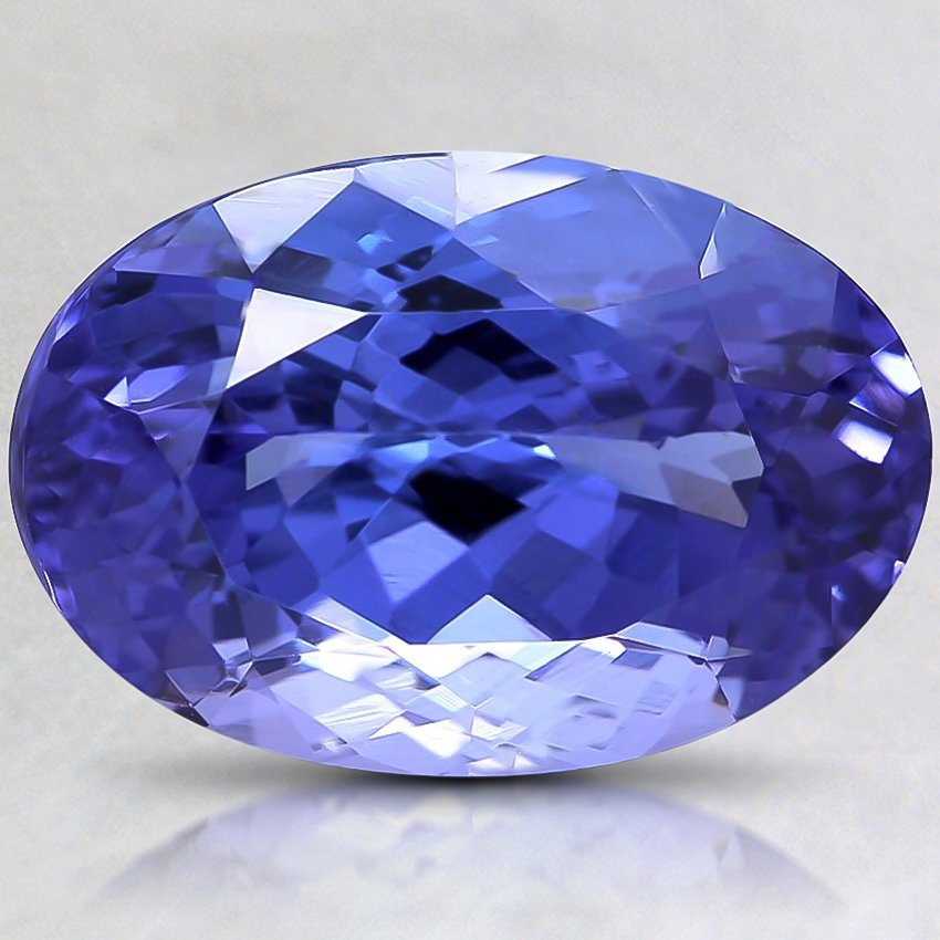 15.9x10.8mm Premium Blue Oval Tanzanite