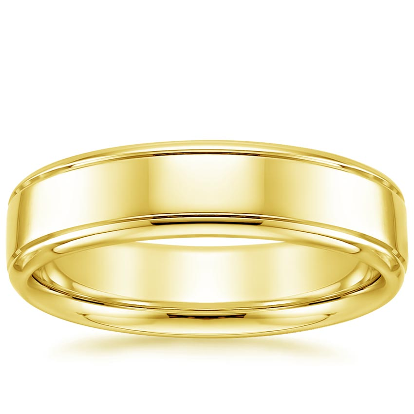 Yellow Gold High Polish Ring