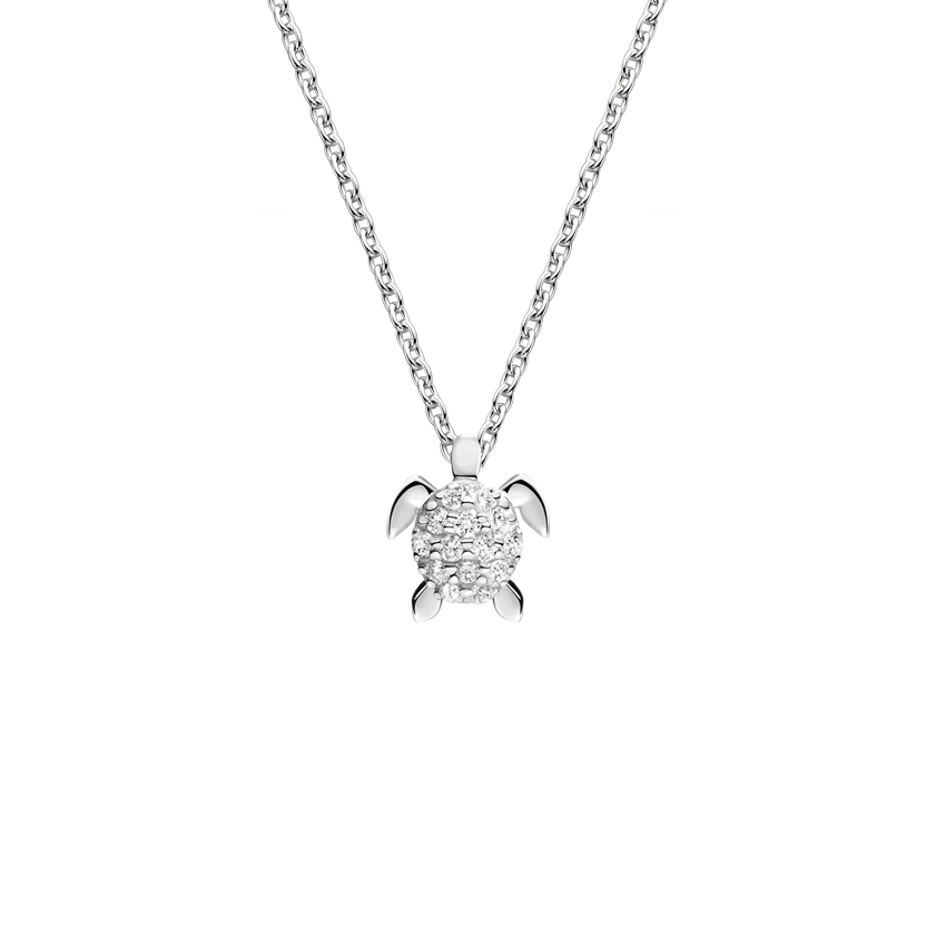 Turtle Diamond Pendant