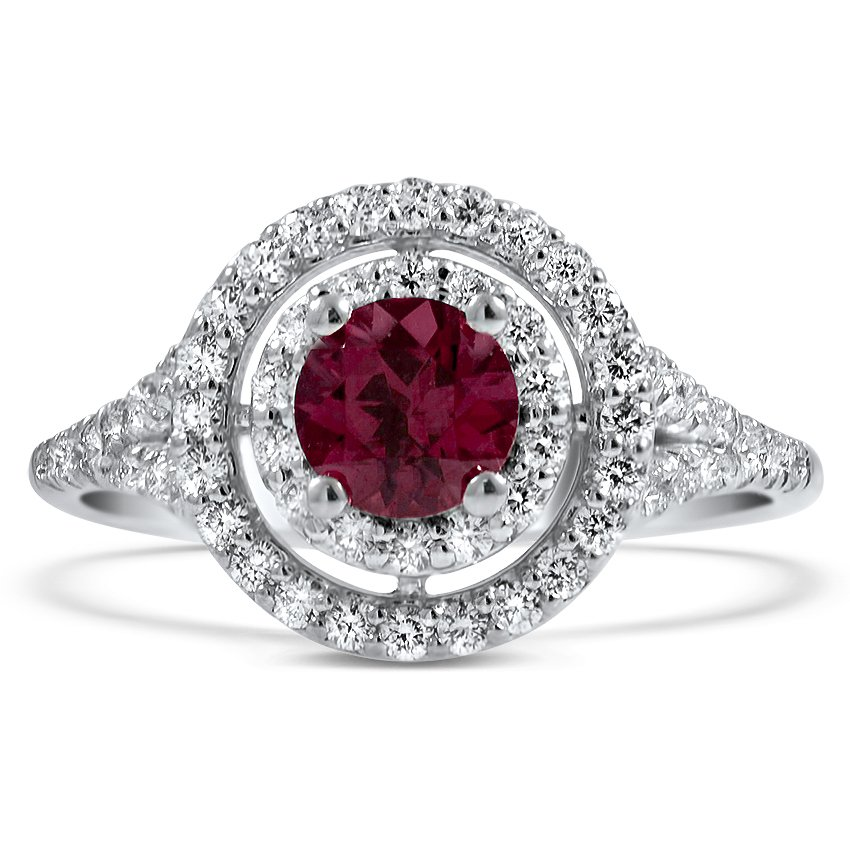 Modern Reproduction Garnet Vintage Ring