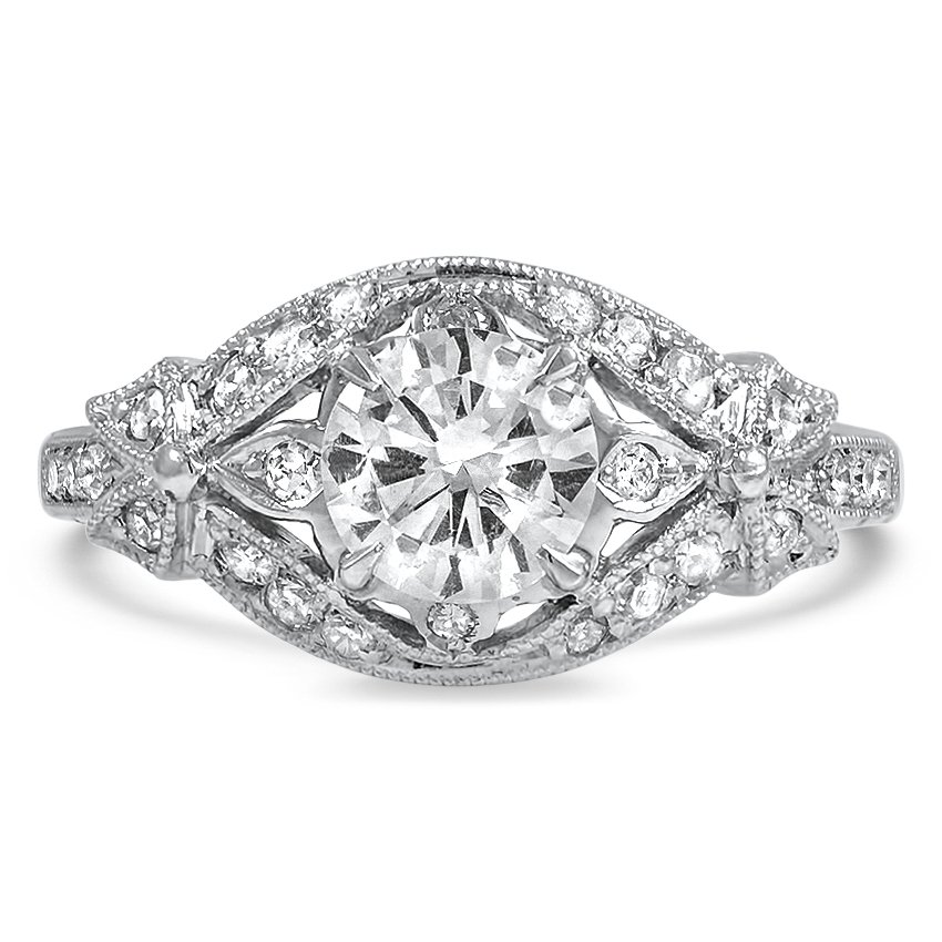 Edwardian Reproduction Diamond Vintage Ring