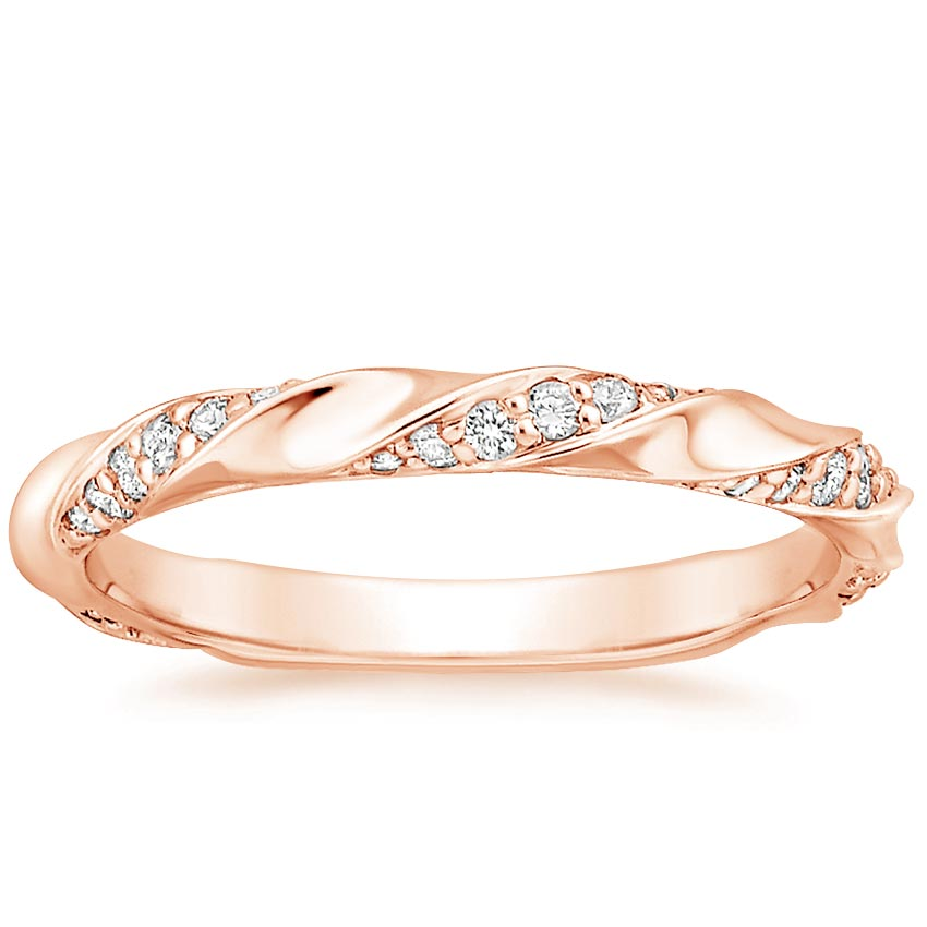 Rose Gold Cosima Diamond Ring (1/4 ct. tw.)