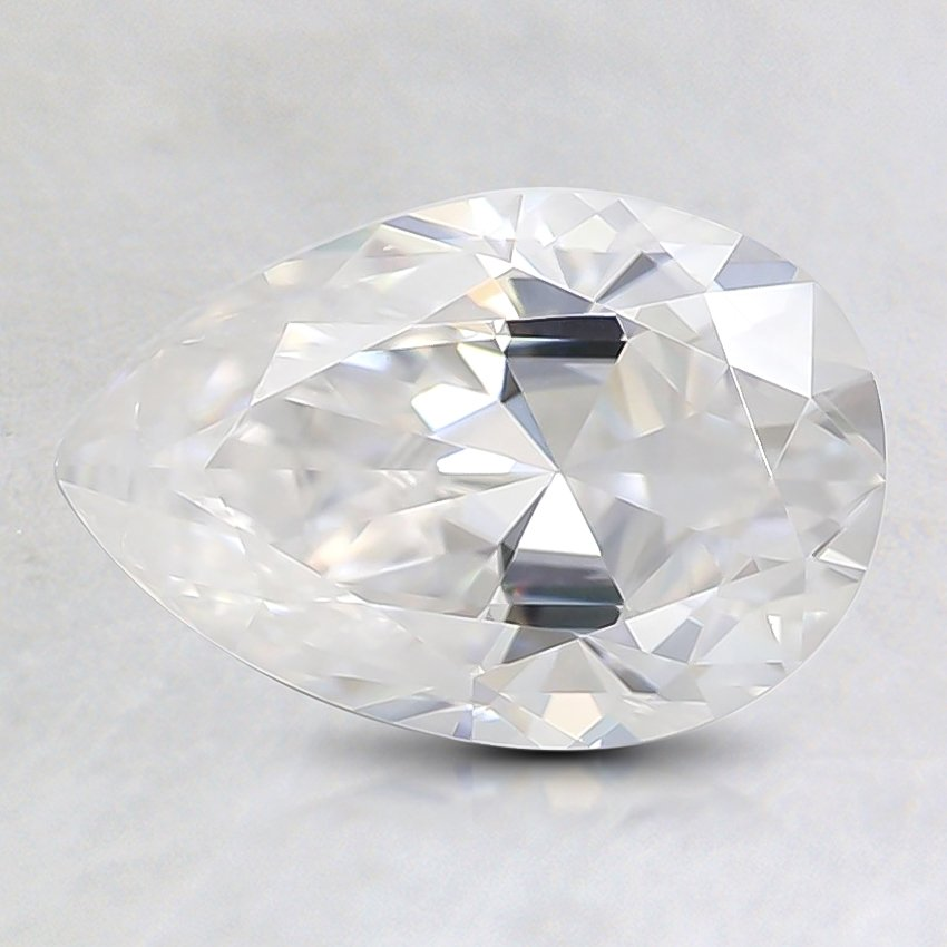 9.1x6.1mm Super Premium Pear Moissanite