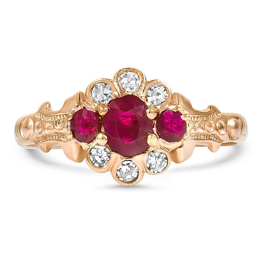 Victorian Ruby Vintage Ring