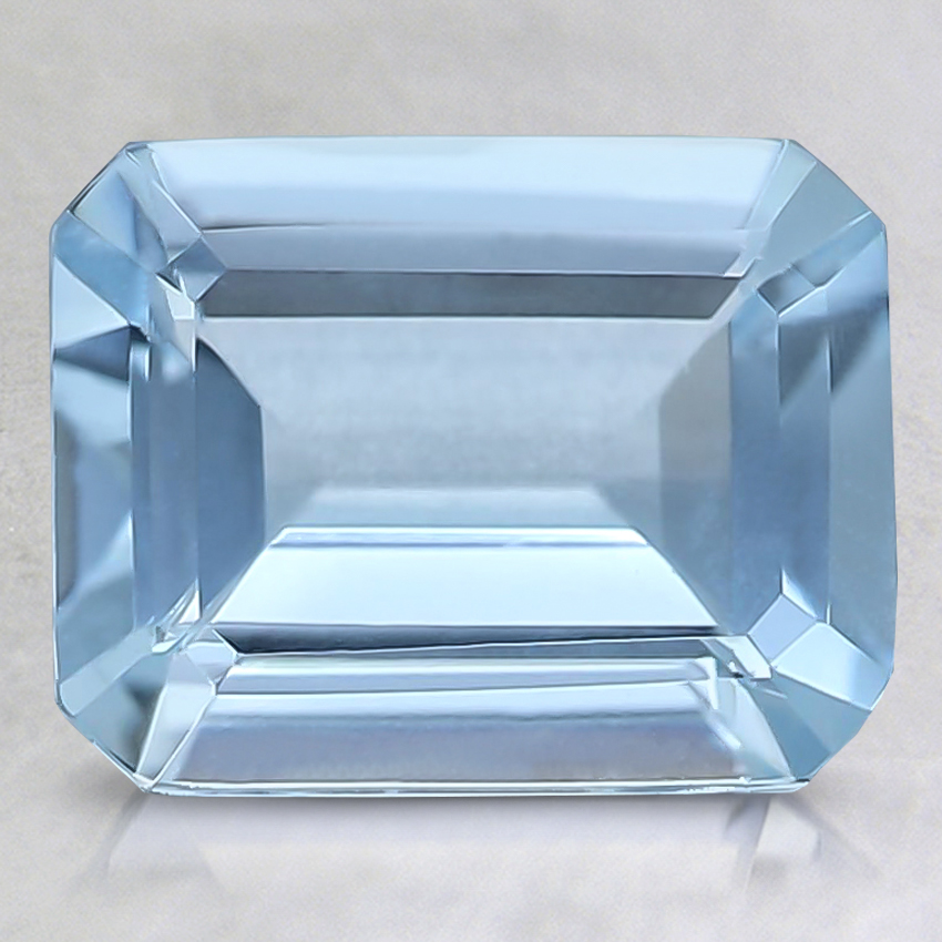 9x7mm Fine Emerald Aquamarine