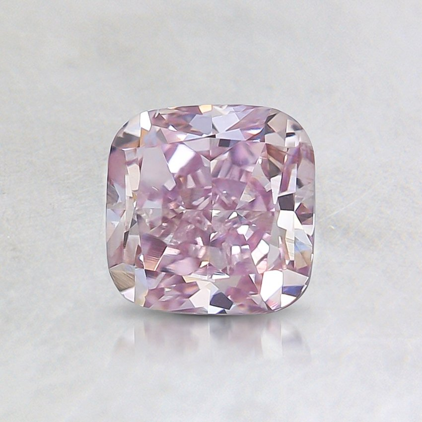 0.75 Ct. Fancy Pink Cushion Diamond