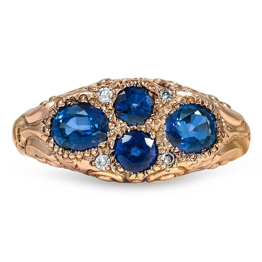 Victorian Sapphire Vintage Ring