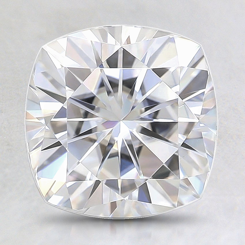 8mm Premium Cushion Moissanite