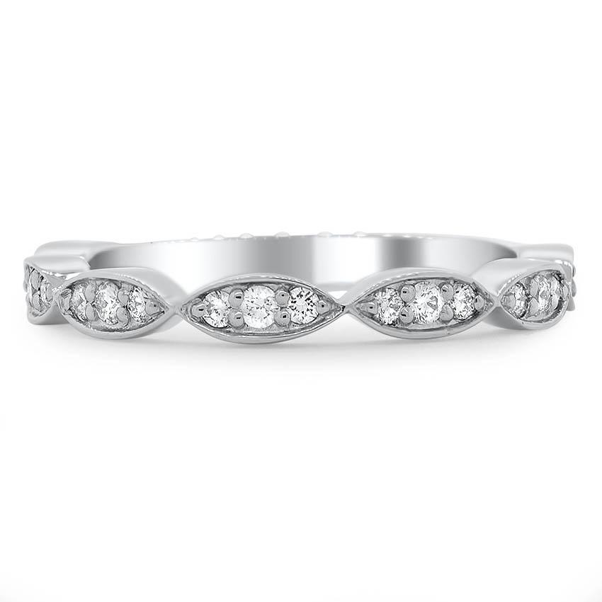 4c44ec855ef Custom Diamond Petal Wedding Band | Brilliant Earth