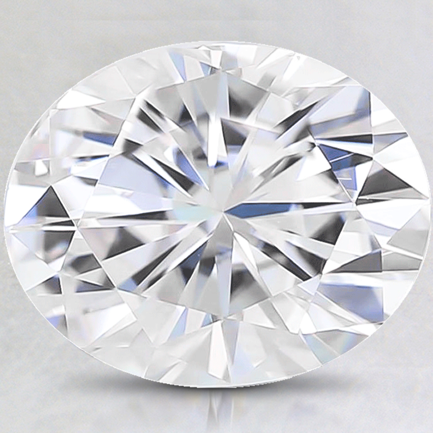 12x10mm Super Premium Oval Moissanite