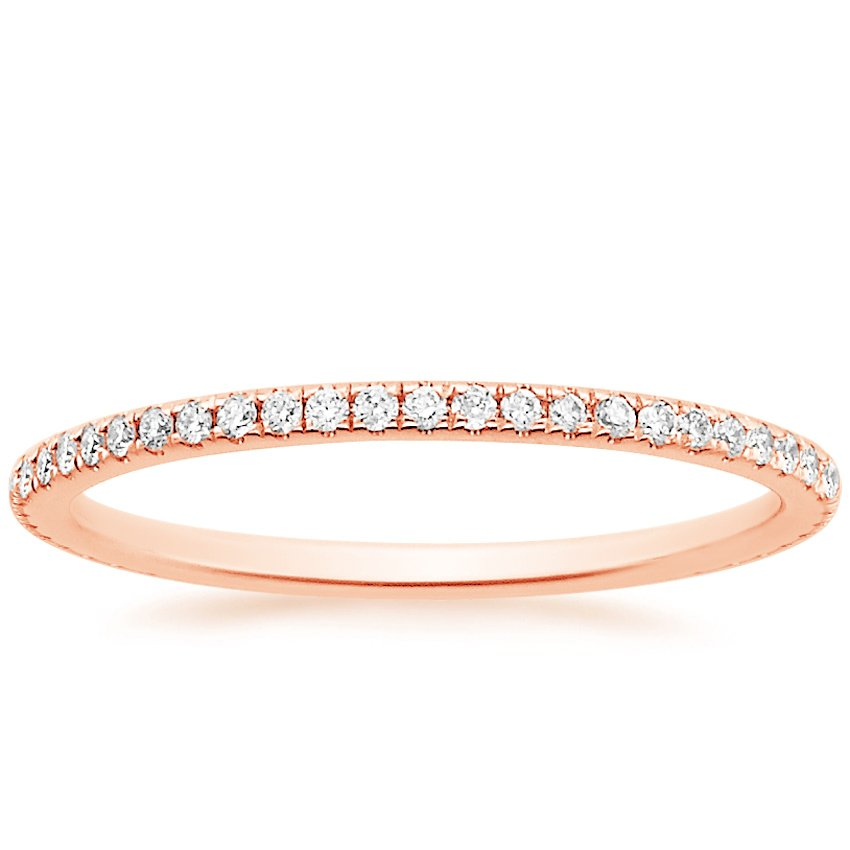 Rose Gold Petite Eternity Ring