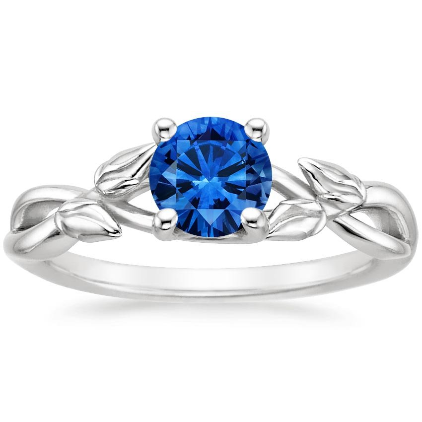 Top Twenty Sapphire Rings - SAPPHIRE BUDDING WILLOW RING