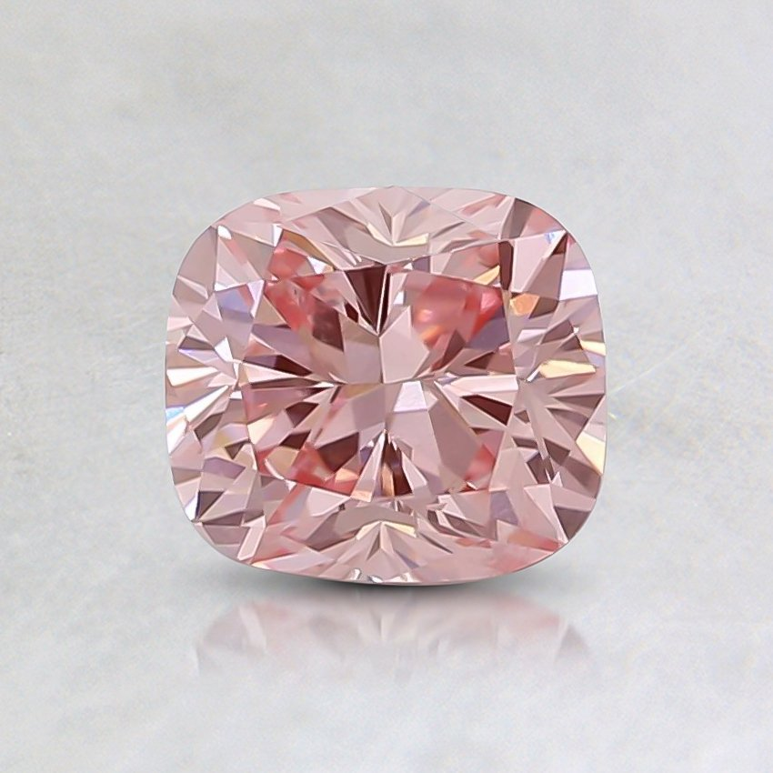 0.56 Ct. Fancy Pink Cushion Lab Created Diamond