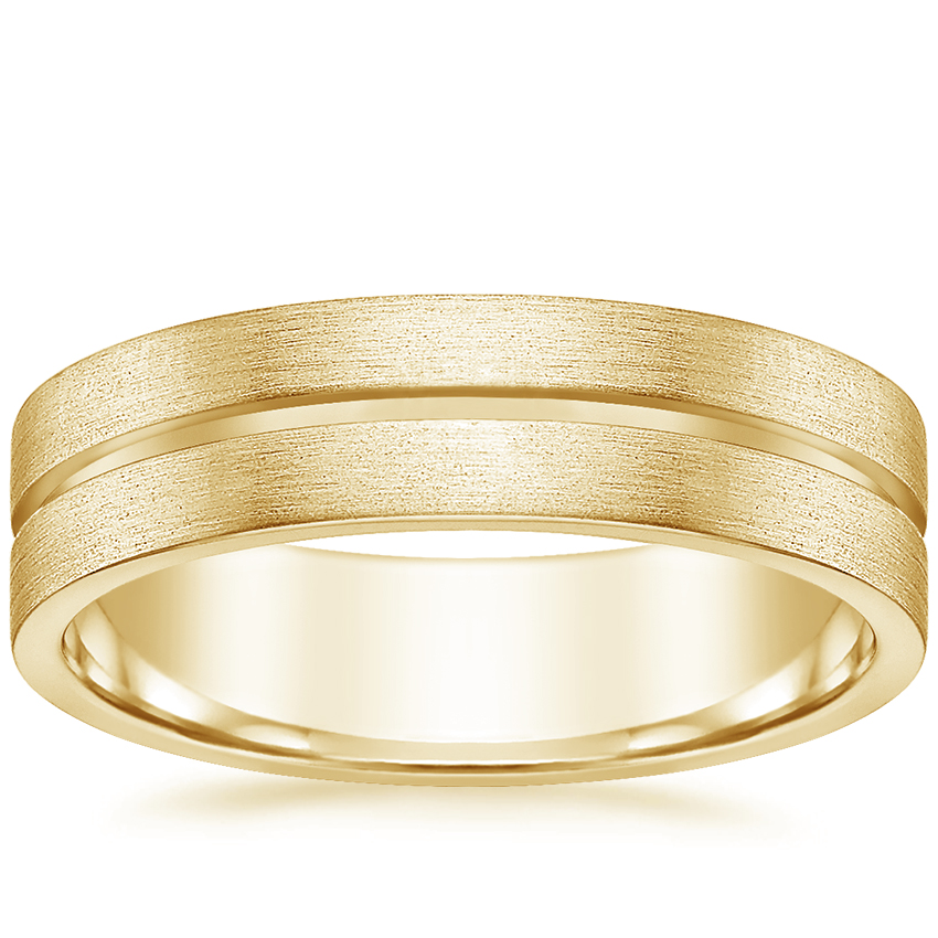 Yellow Gold Mason Wedding Ring