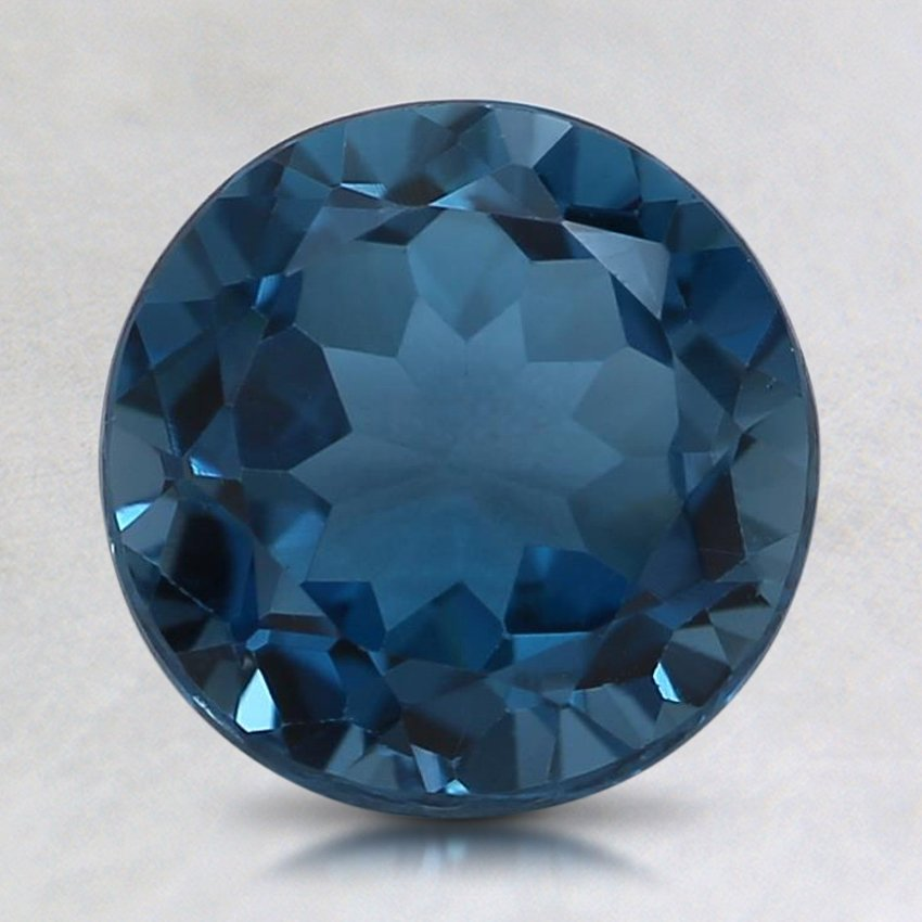 8mm London Blue Round Topaz