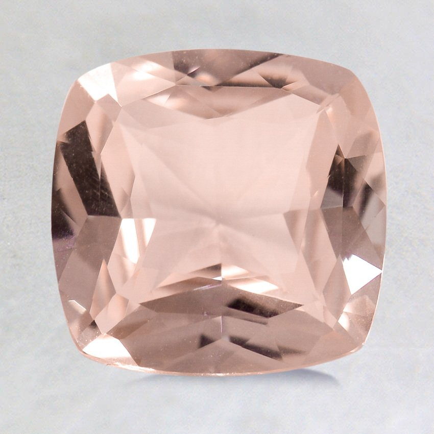 8mm Unheated Peach Cushion Sapphire