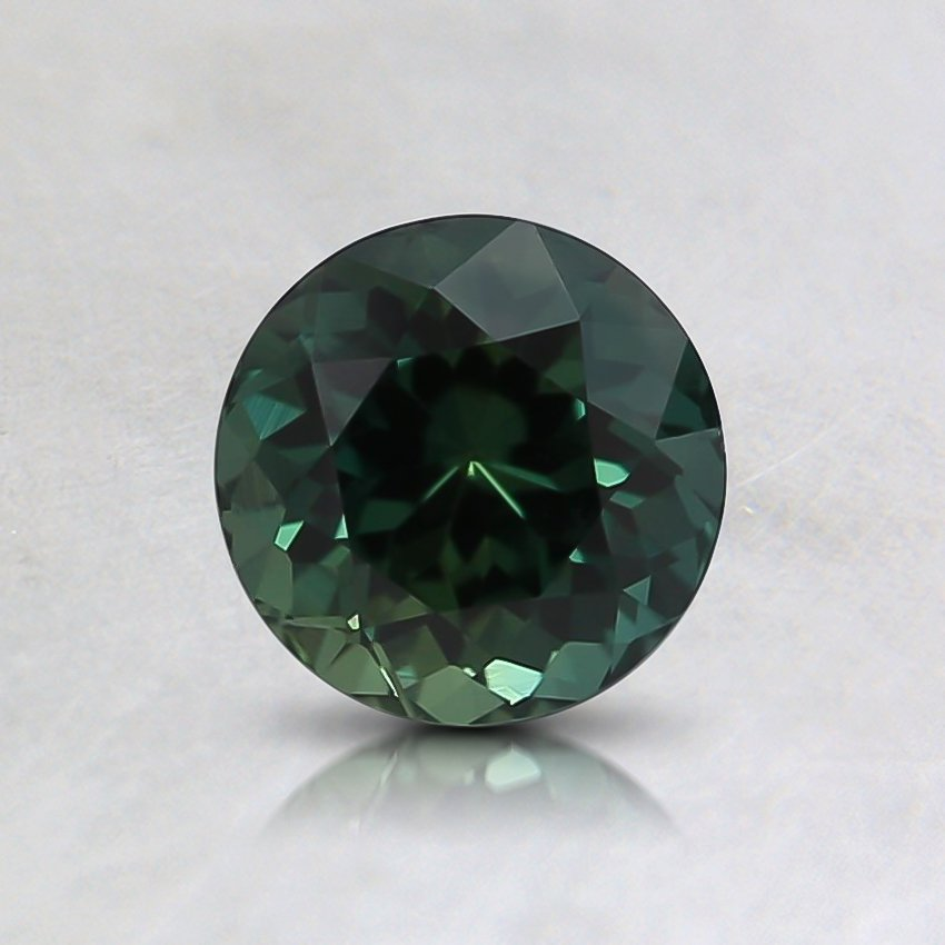 5.5mm Unheated Teal Round Sapphire