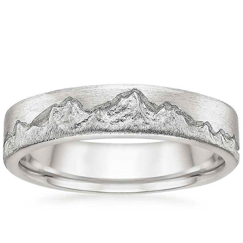Top Twenty Men's Wedding Rings - SUMMIT WEDDING RING