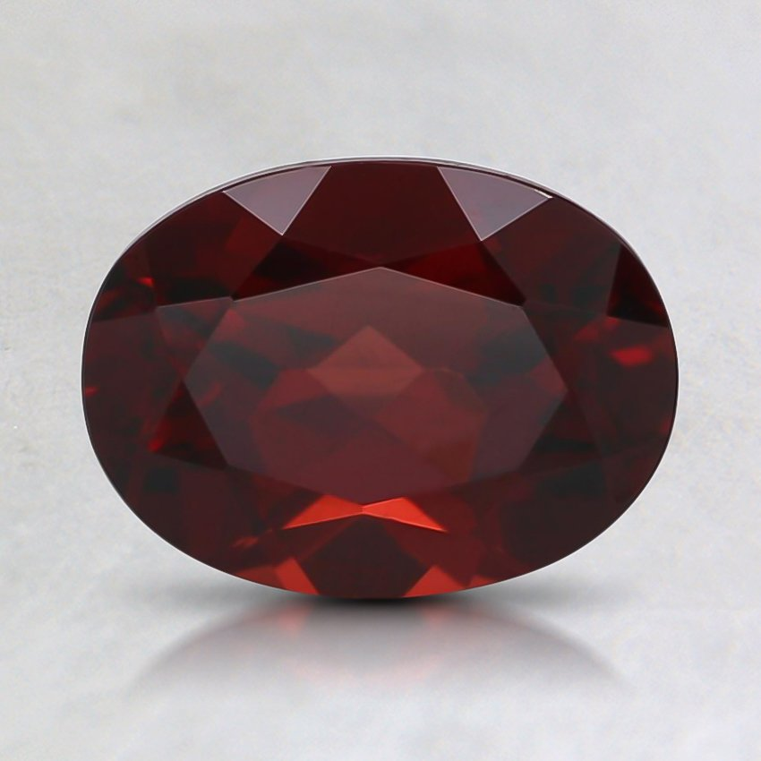 8x6mm Oval Red Pyrope Garnet