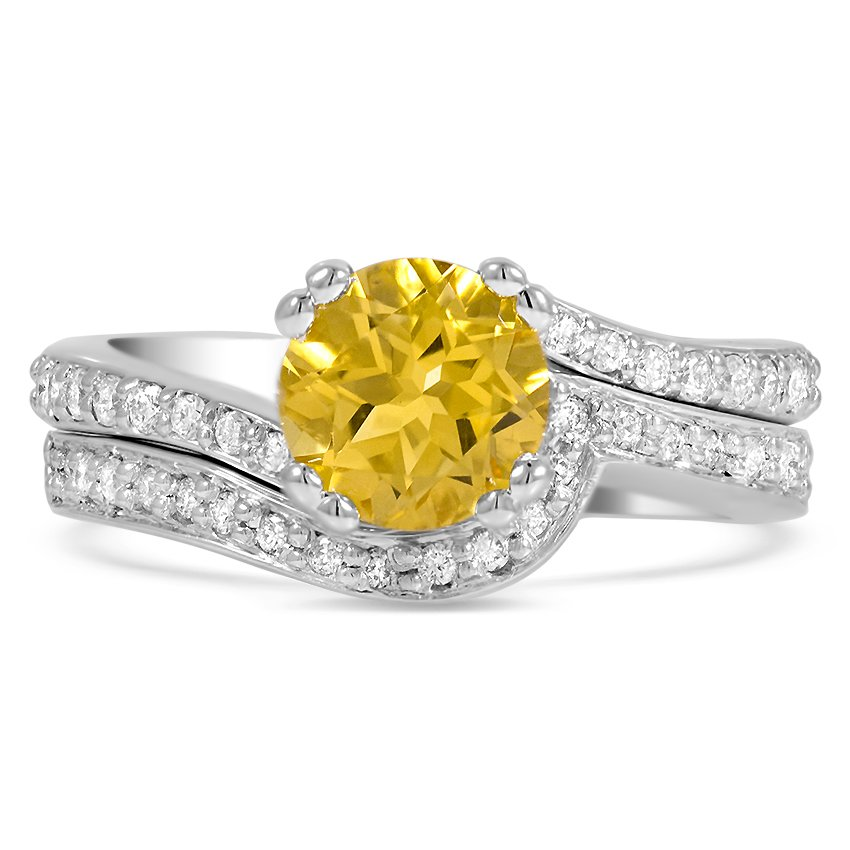Modern Reproduction Citrine Vintage Ring