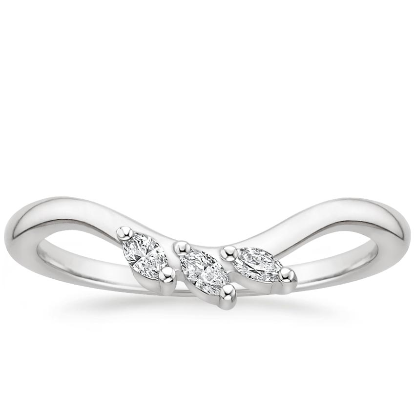 Seacrest Diamond Ring in Platinum