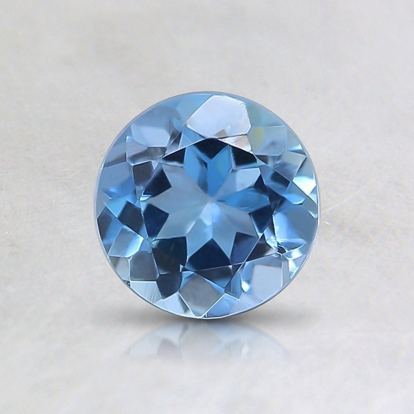 5.6mm Blue Round Aquamarine