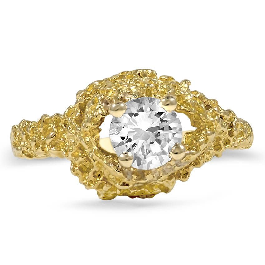 The Mandara Engagement Ring, top view