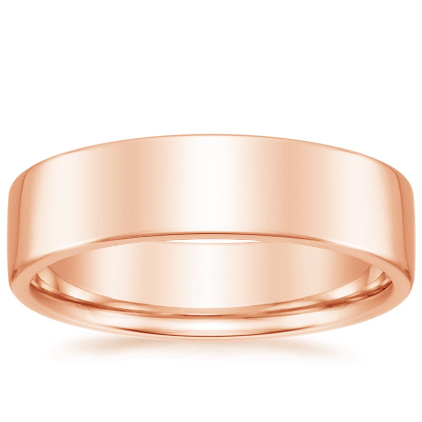 Rose Gold 6mm Mojave Wedding Ring
