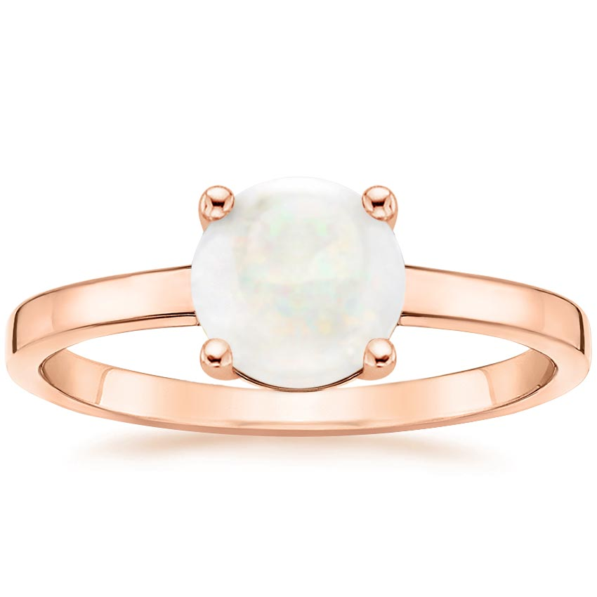 Rose Gold Opal Cadence Ring