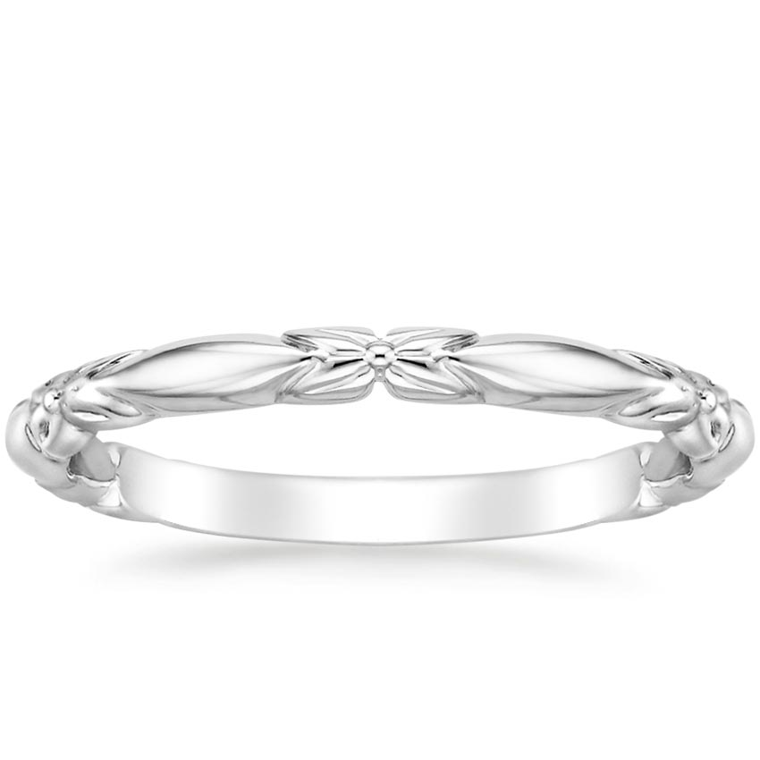 Floral Women's Wedding Ring