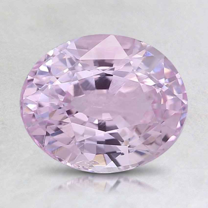 8.2x6.7mm Pink Oval Sapphire
