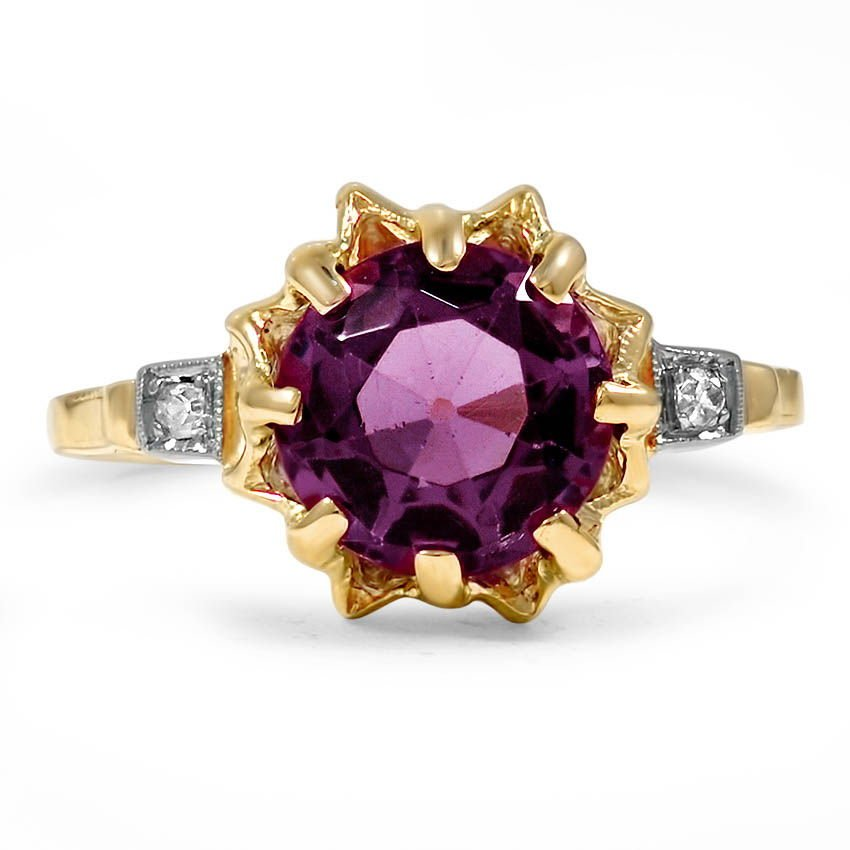 Retro Amethyst Vintage Ring