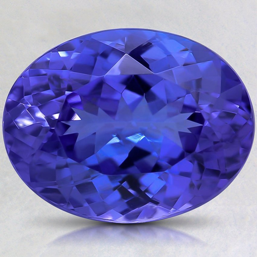 13.8x10.7mm Premium Blue Oval Tanzanite
